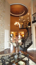 Rialto Model Home Foyer