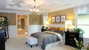 Toll Brothers Model Master Bedroom